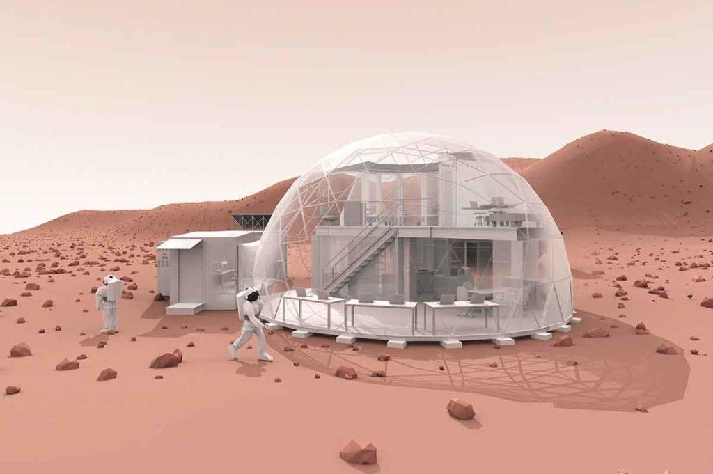 модуль Xiaomi на Марсе