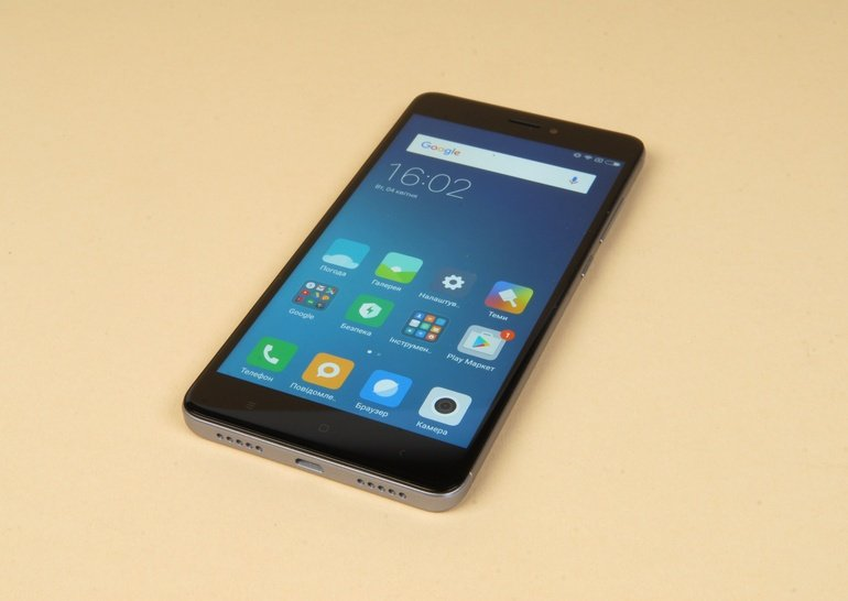 Xiaomi Redmi Note 4X - обзор