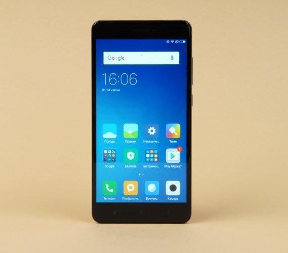 Xiaomi Redmi Note 4X - обзор, функционал и преимущества
