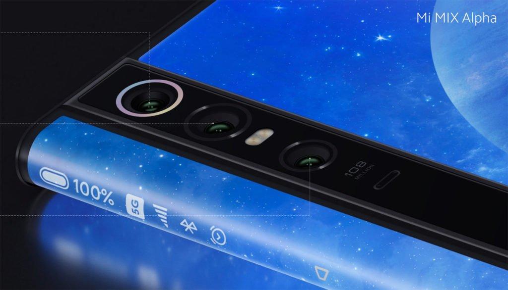 Дебют нового смартфона Xiaomi Mi Mix Alpha со 108MP камерой