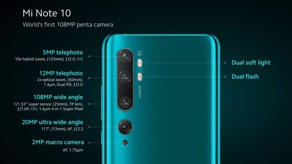 Запуск Mi Note 10 и Mi Note 10 Pro в Европе