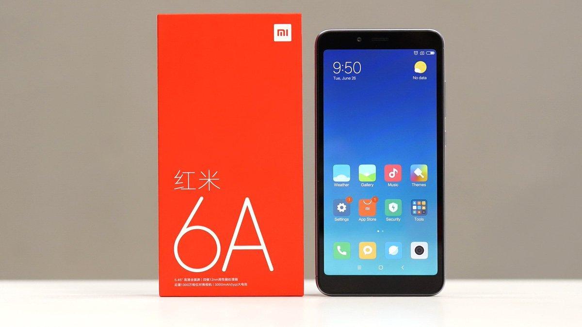 Xiaomi redmi 6A самый дешевый смартфон