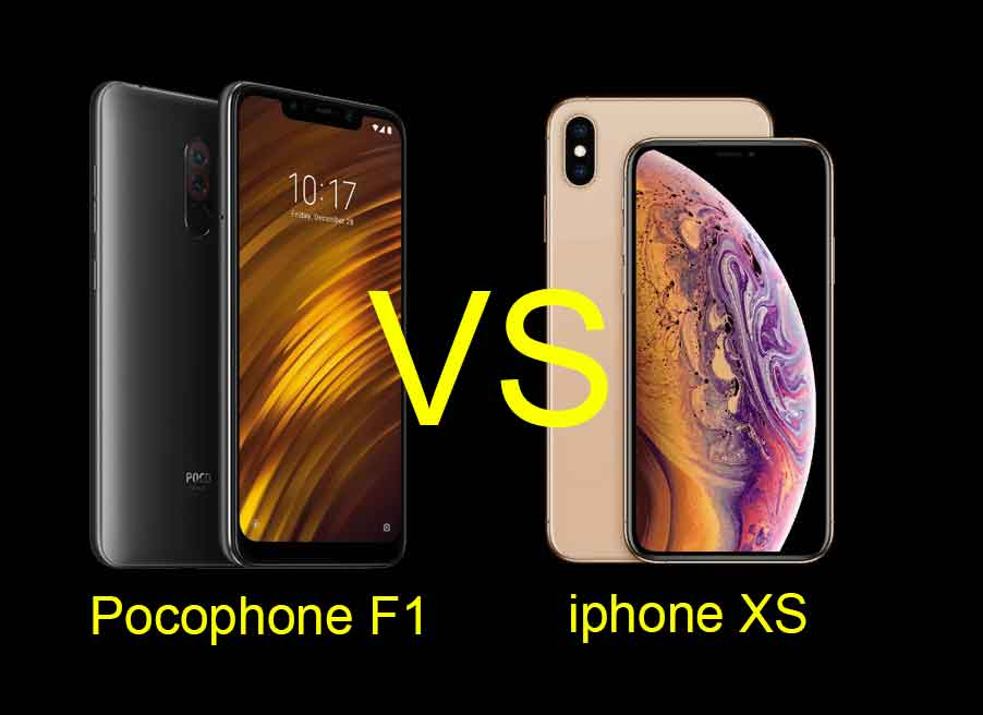 pocophone-f1-vs-iphone-xs